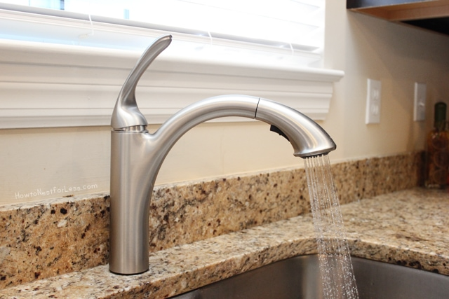 How To Install A Kitchen Faucet - How To Nest For Less™