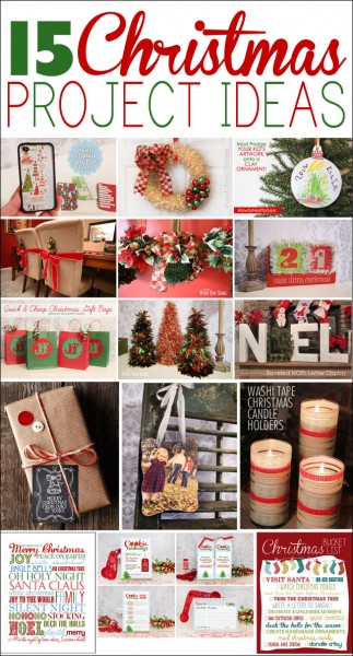 15 christmas project ideas
