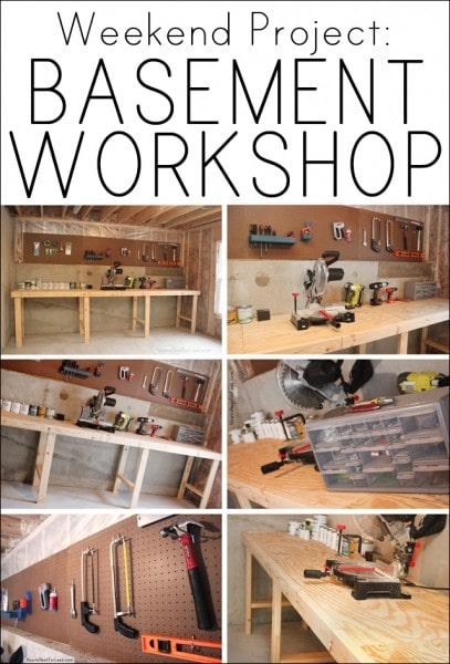 basement workshop weekend project