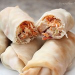 What's Cooking: Cheesy Chicken Bacon Eggrolls