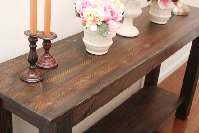 farm house table console