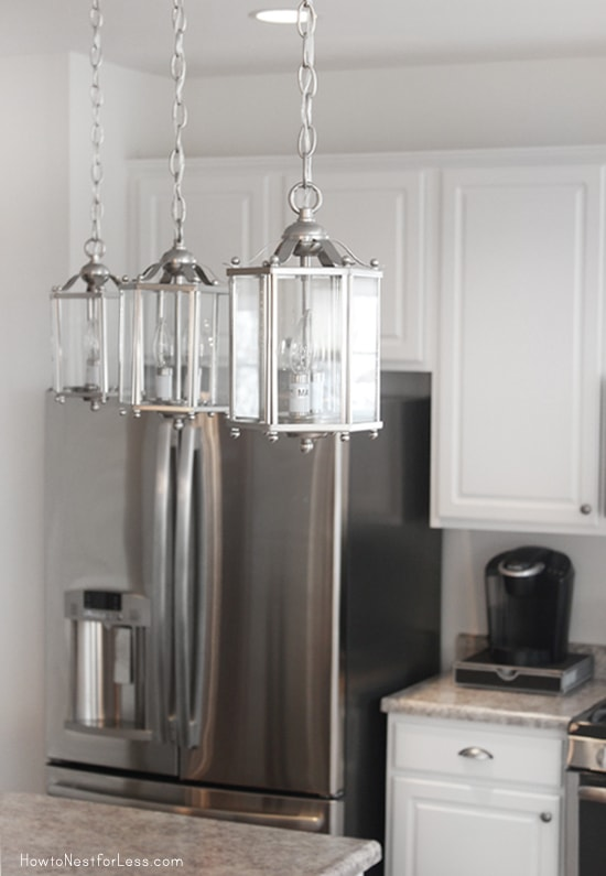 kitchen lantern lights