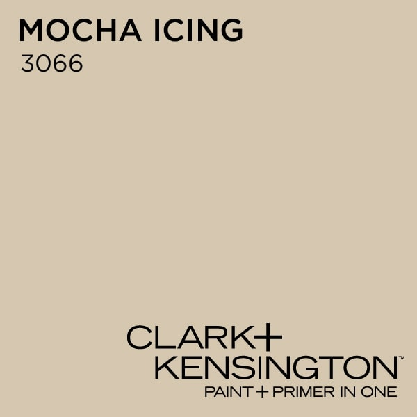 mocha icing clark and kensington paint