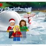 How to Make a LEGO Minifigure Family Virtual Holiday Card