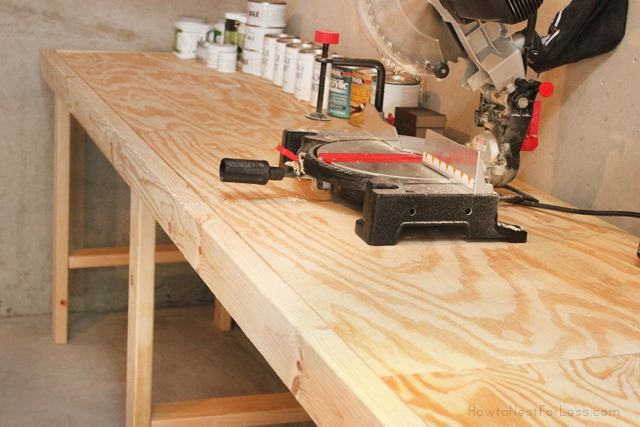 work shop bench