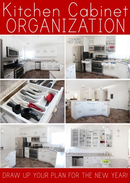KITCHEN CABINET ORGANIZATION PLAN