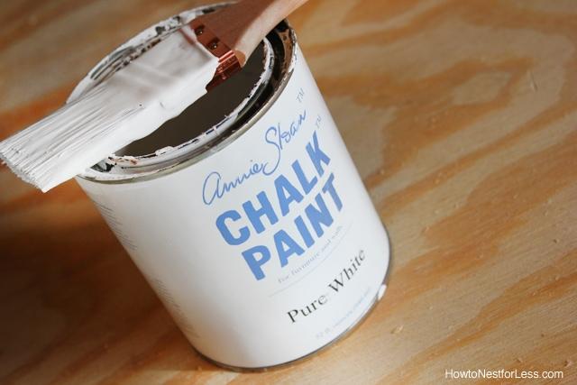 chalk paint desk