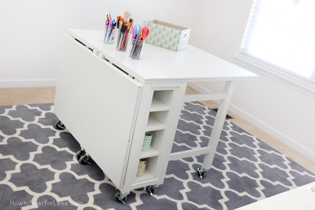 craft room desk home decorators