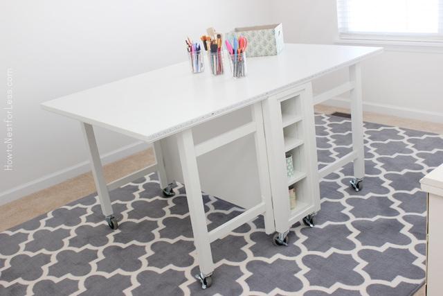 craft room new desk