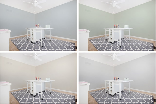 And so the craft room begins how to nest for less for Craft room paint colors