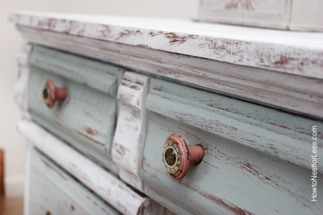 Distressed Chalk Paint How To