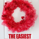 Valentine's Day Wreath (20 Minute Project)