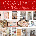home organization project ideas