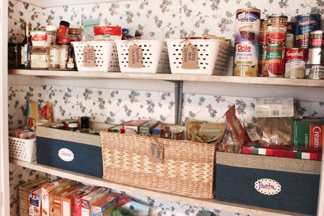 inexpensive pantry makeover