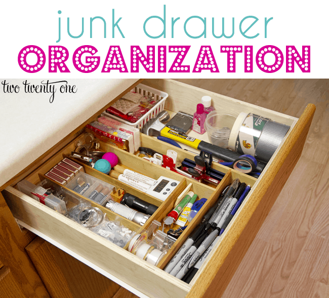 Organizing projects at home