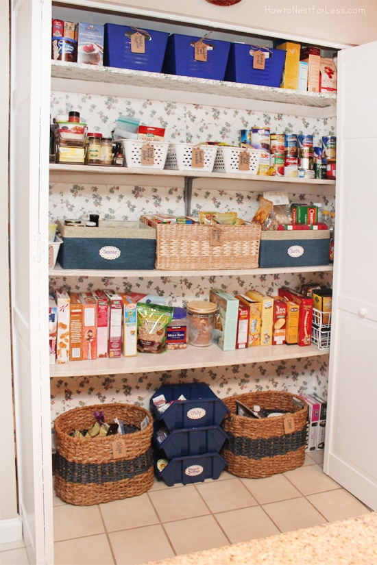 Kitchen Folding Pantry Door