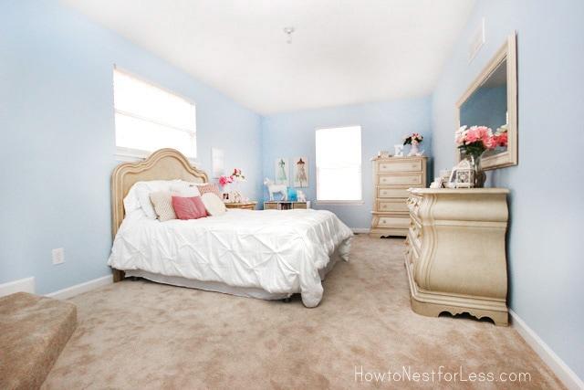 poetic prose painted bedroom