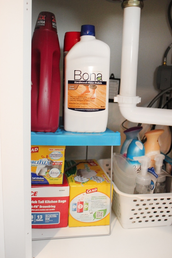 How to Organize Under Your Kitchen Sink - How to Nest for Less™