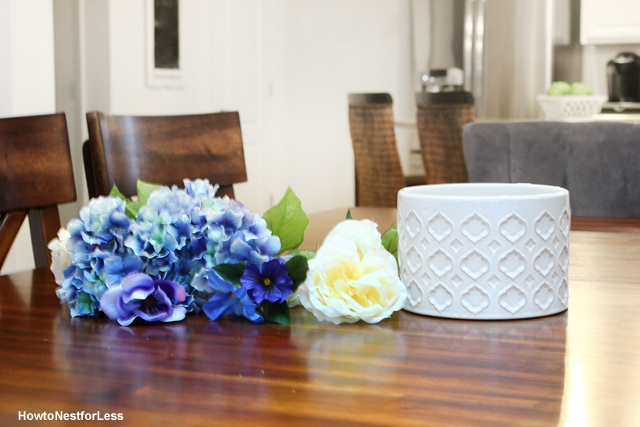 diy cheap centerpiece materials