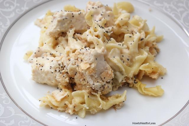 poppy seed chicken dinner recipe