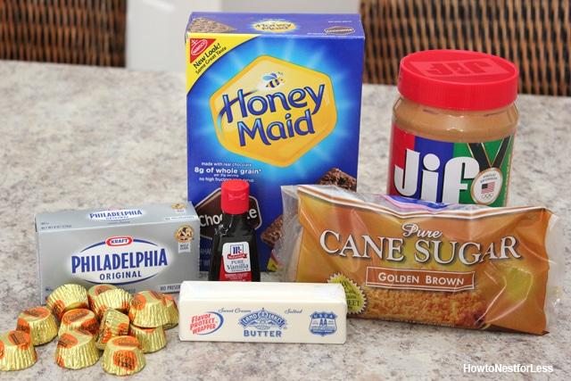 reeces peanut butter dip ingredients