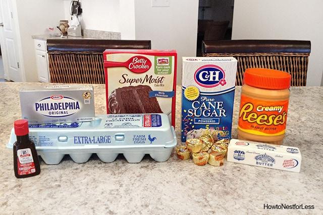 chocolate gooey peanut butter cake ingredients