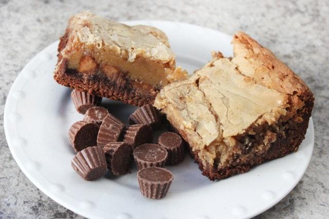 chocolate peanut butter gooey cake