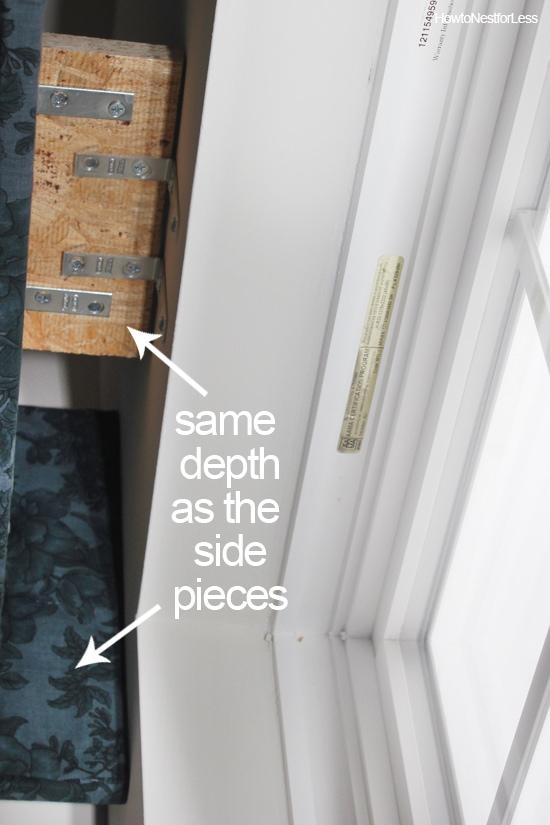 diy kitchen fabric cornices