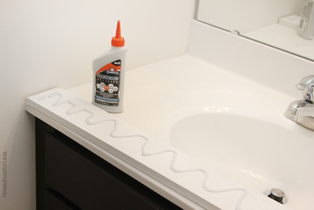 elmers purebond glue for framing mirror