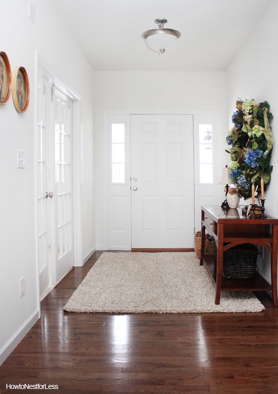entry foyer makeover