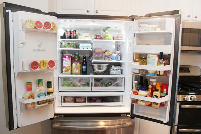 french door fridge & My Love Hate Relationship with my French Door Refrigerator - How ... Pezcame.Com