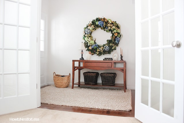 home entry foyer makeover