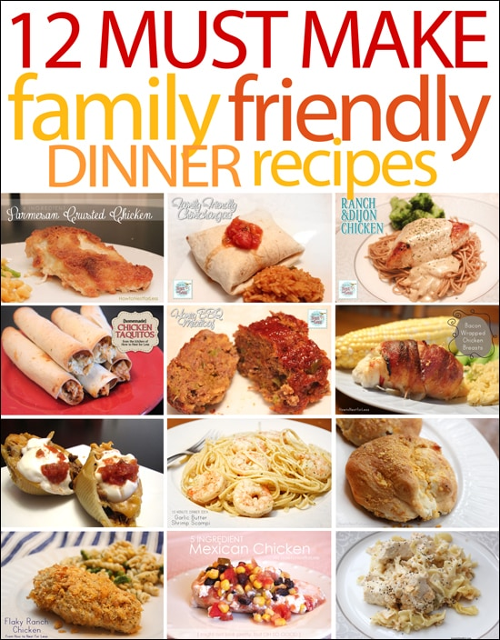 quick easy family meal recipes food fox recipes