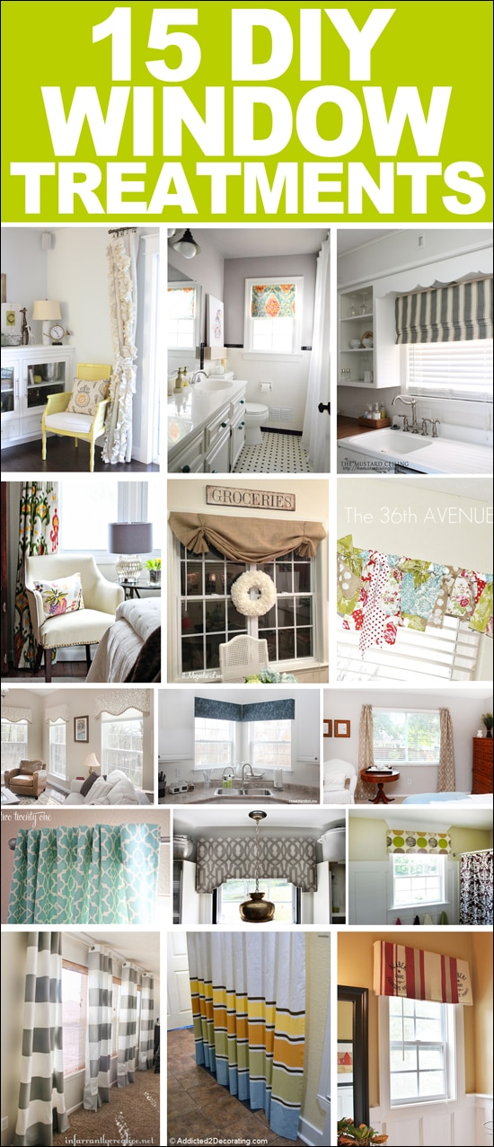 Get Inspired: 15 DIY Window Treatments