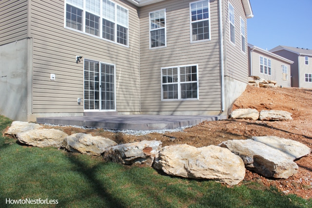 Stamped Concrete Patios + Upcoming Weekend Project