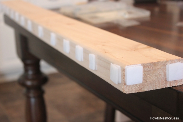 diy board valance tutorial
