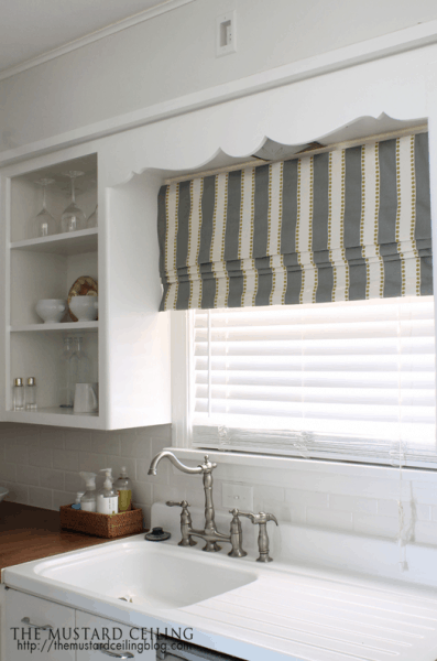 Get inspired 15 diy window treatments how to nest for less for Window treatments for less