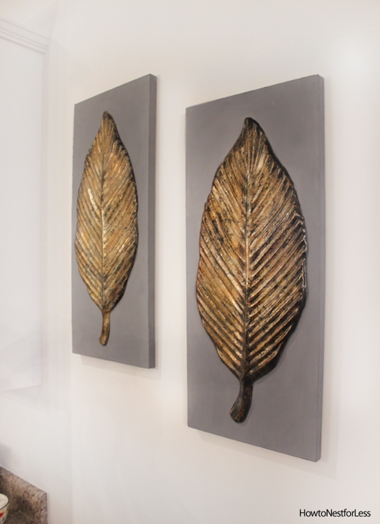 gold leaf wall artwork : wall art leaves - www.pureclipart.com