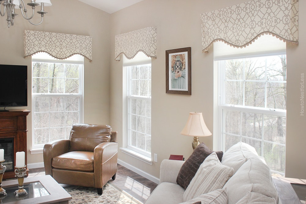 hearth room window treatments