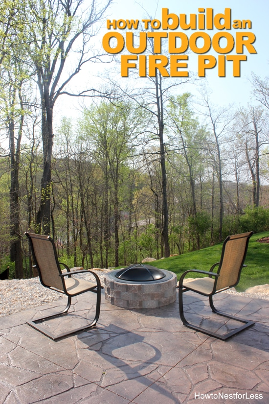 DIY Fire Pit – How to Build a Patio Fire Pit