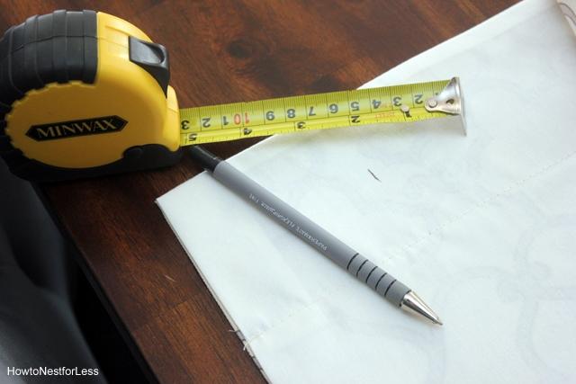 measure diy window board valances