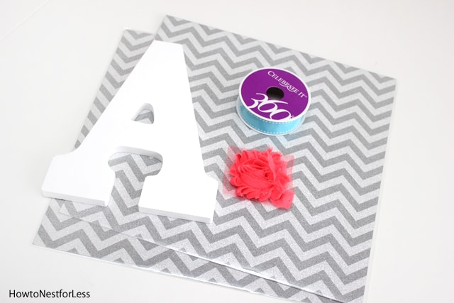 monogram bow holder supplies
