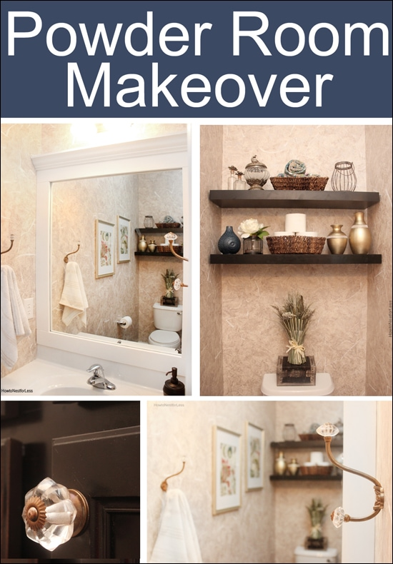 Powder Room Makeover - How to Nest for Less™