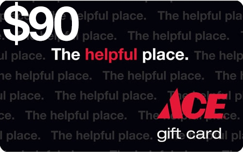 Ace Hardware Gift Card GIVEAWAY!