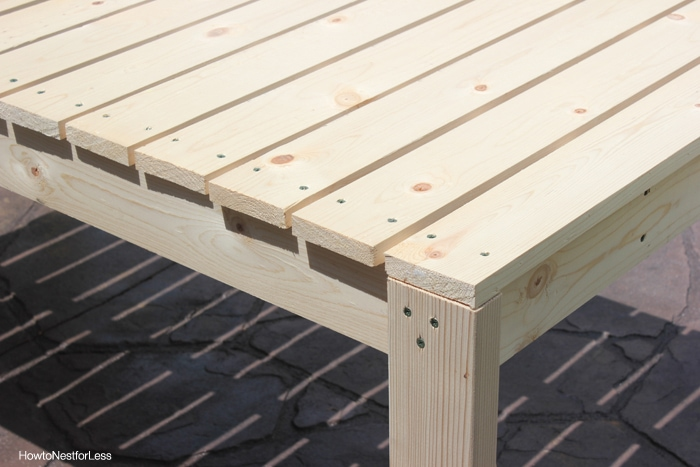 Build Patio Table