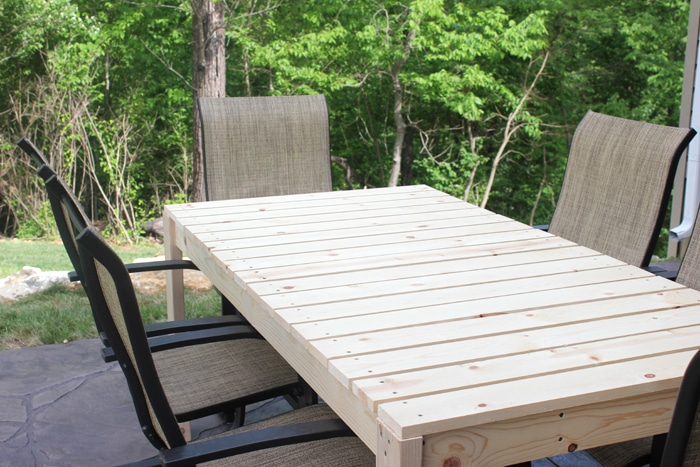 How to build a patio dining table how to nest for less building a patio table watchthetrailerfo