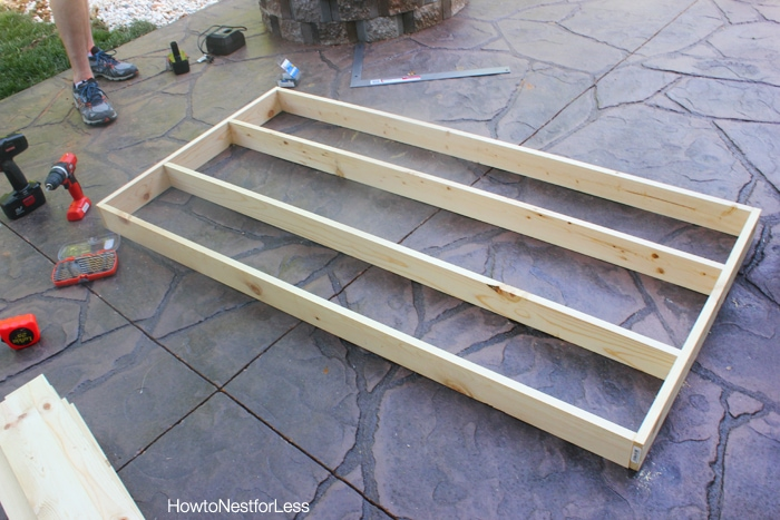diy patio dining table