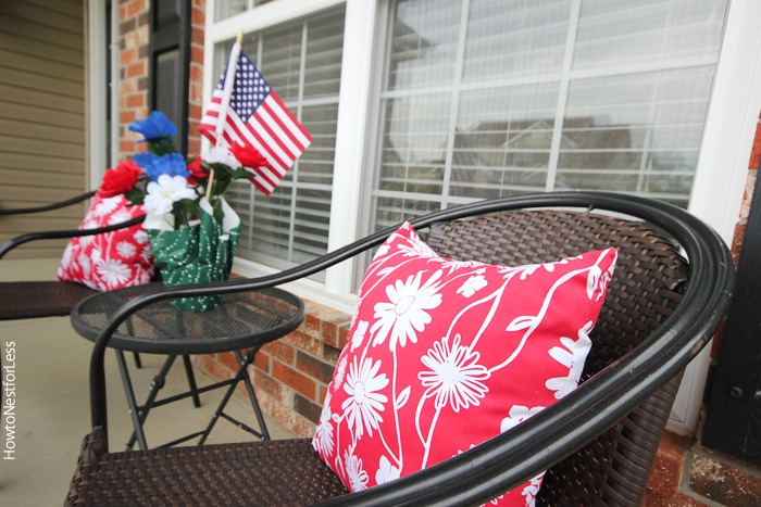 outdoor pillows from dollar general