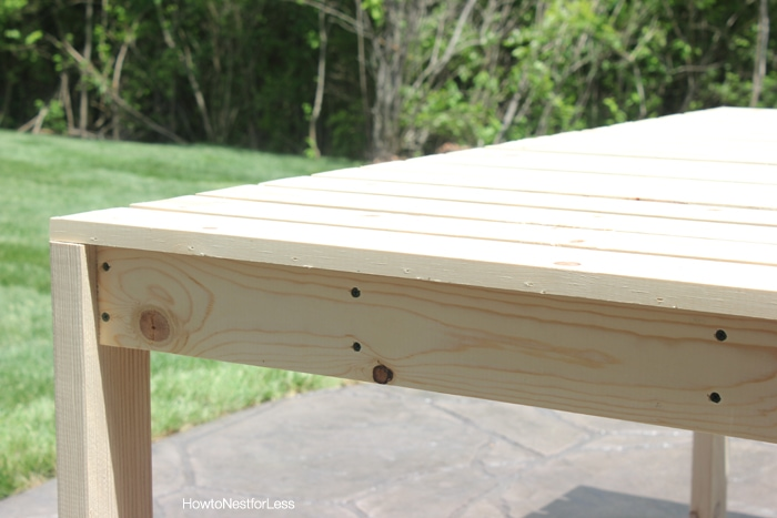 Patio Table Building