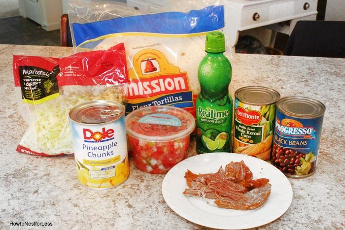 pork tacos ingredients